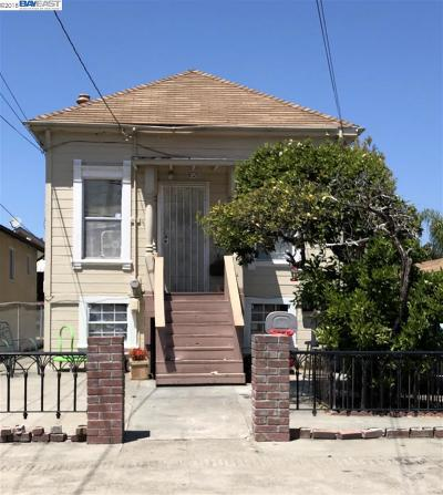San Leandro Multi Family Home For Sale: 350 Harlan St