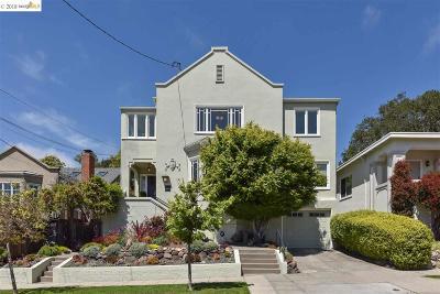 Berkeley Single Family Home For Sale: 1871 Thousand Oaks