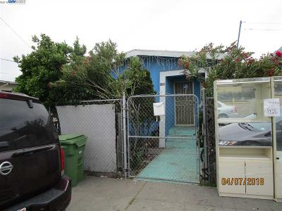 Oakland Single Family Home Active-Short Sale: 679 Cary Ave