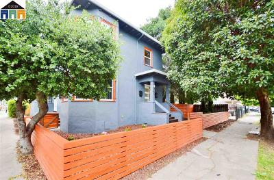 Oakland Multi Family Home For Sale: 704 E 17th Street
