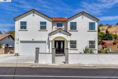 El Sobrante Single Family Home For Sale: 5485 Olinda Rd