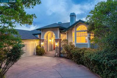 Walnut Creek Single Family Home Price Change: 157 Twin Peaks Dr