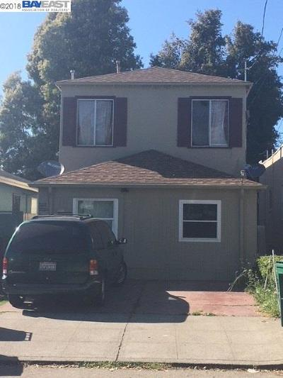 Oakland Multi Family Home New: 3221 62nd Ave