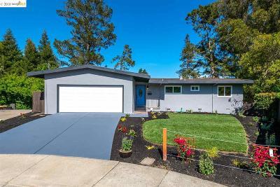 El Sobrante Single Family Home New: 662 El Cerro Dr