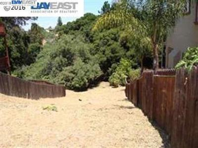 Hayward Residential Lots & Land For Sale: Weir Dr