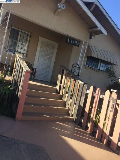 Oakland Single Family Home New: 1109 70th Ave