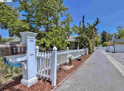 Palo Alto Single Family Home For Sale: 731 Barron Ave