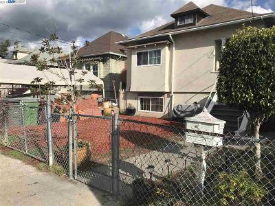 Oakland Single Family Home New: 1530 40th Ave
