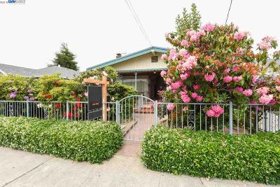 San Leandro Single Family Home For Sale: 1825 Bancroft Ave