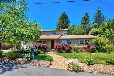 Walnut Creek Single Family Home New: 21 Supreme Ct