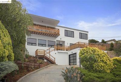 El Cerrito CA Single Family Home For Sale: $1,385,000