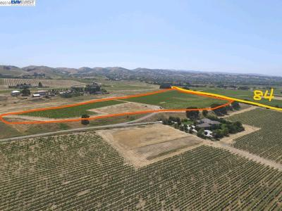 Livermore CA Residential Lots & Land For Sale: $2,250,000
