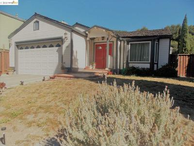 Pinole CA Single Family Home New: $669,000