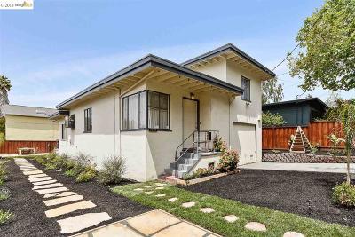 Berkeley Single Family Home New: 1151 Virginia St