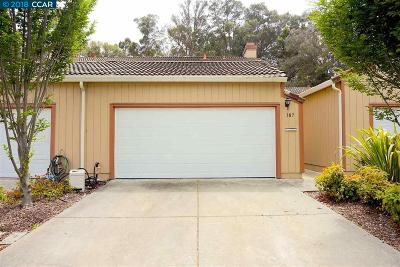 Hercules Condo/Townhouse For Sale: 187 Mesa Ct