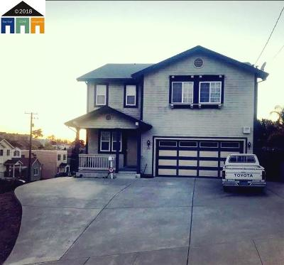 Rodeo Single Family Home For Sale: 240 Suisun Avenue