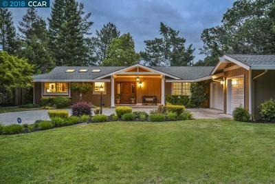 Danville Single Family Home For Sale: 363 Del Amigo Rd