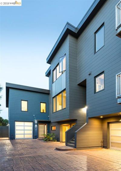 Berkeley Condo/Townhouse For Sale: 2817 Eighth #C