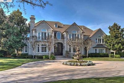 Pleasanton CA Single Family Home For Sale: $3,599,000