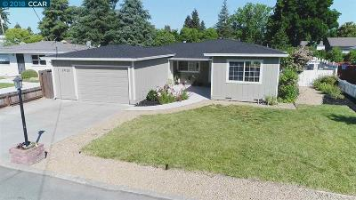 Concord Single Family Home For Sale: 3925 Ferndale Lane