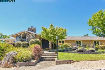 Moraga Single Family Home For Sale: 1861 Joseph Drive