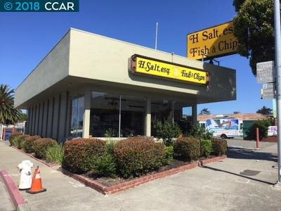 Richmond Commercial For Sale: 12951 San Pablo Ave