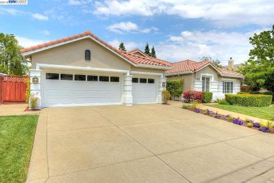 Pleasanton Single Family Home Price Change: 3425 Ashton Ct