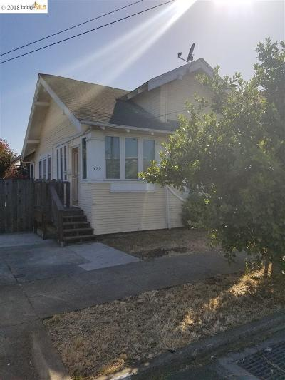 Richmond Single Family Home Pending Courtconfirmation: 379 Beck Street