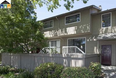 Pleasanton Condo/Townhouse For Sale: 3537 Norton Way
