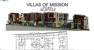 Fremont Residential Lots & Land For Sale: 36341 Mission Blvd