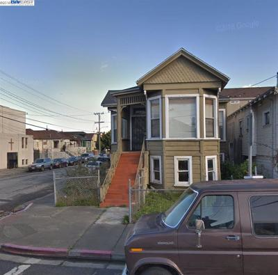 Oakland Multi Family Home New: 1038 32nd St