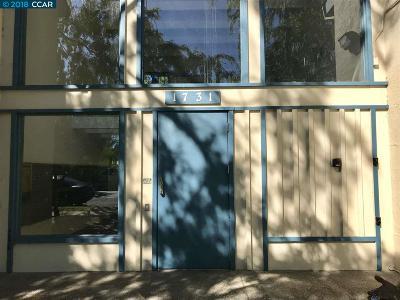 Concord Condo/Townhouse Back On Market: 1731 Ellis St #6