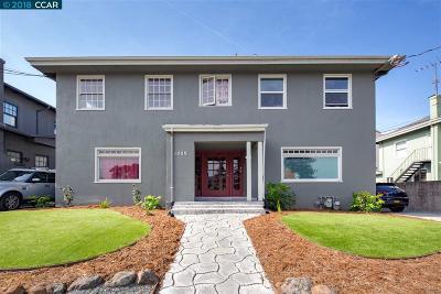 Oakland Multi Family Home New: 1007 Macarthur Blvd