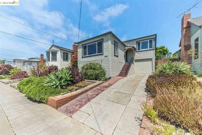 El Cerrito Single Family Home New: 146 San Carlos Ave