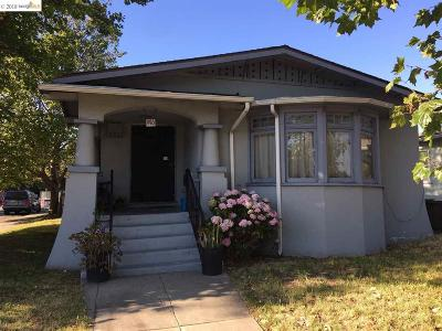 Oakland Single Family Home For Sale: 996 40th