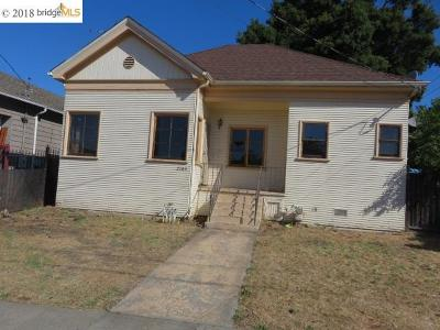 Oakland Single Family Home Active-Reo: 2103 88th Ave