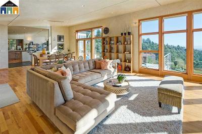 Oakland Single Family Home New: 6033 Skyline Blvd