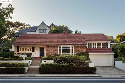 Oakland Single Family Home For Sale: 5664 Broadway Ter