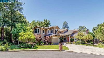 Moraga Single Family Home For Sale: 75 Jean Court