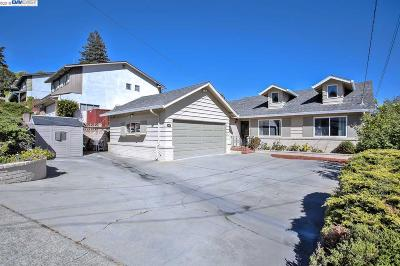Castro Valley Single Family Home For Sale: 2713 Jennifer Drive