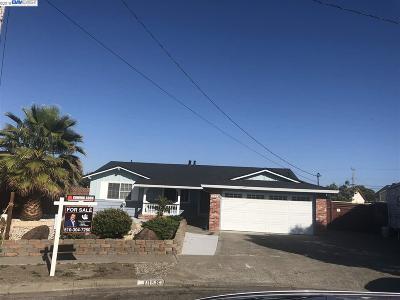 Hayward Single Family Home For Sale: 1858 Elder Ct