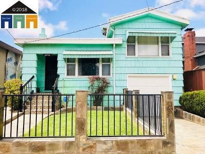 Berkeley Single Family Home For Sale: 2740 California St