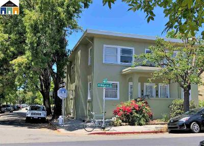 Oakland Multi Family Home For Sale: 4155 Webster Street
