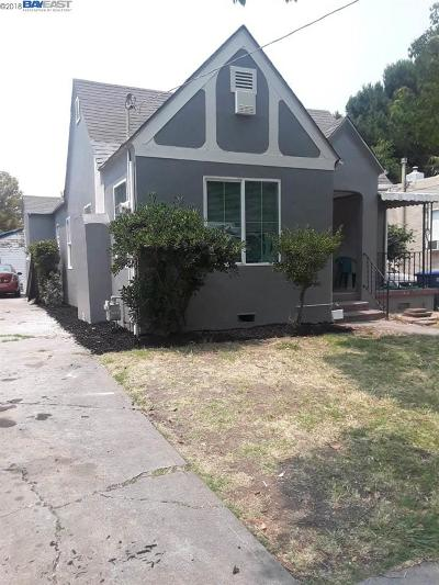 Pittsburg Single Family Home For Sale: 1330 Redwood St