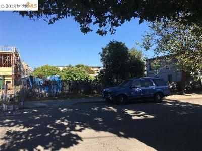 Oakland Residential Lots & Land For Sale: 996 40th