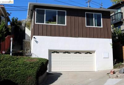 El Cerrito CA Single Family Home For Sale: $875,000