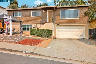 Vallejo Single Family Home For Sale: 136 El Poco Place