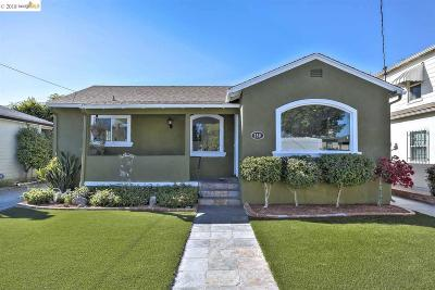 San Leandro Single Family Home For Sale: 350 Best Ave