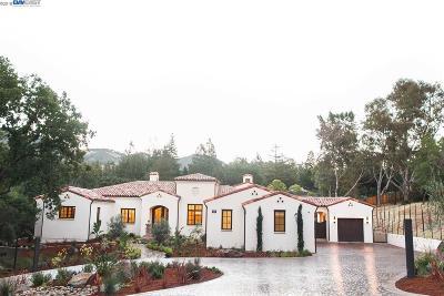 Diablo Single Family Home For Sale: 1726 El Nido