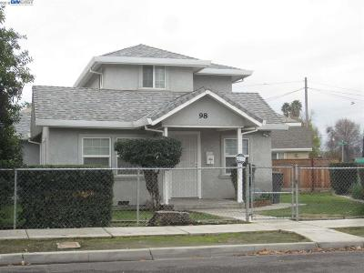 Tracy Single Family Home For Sale: 98 W 3rd Street